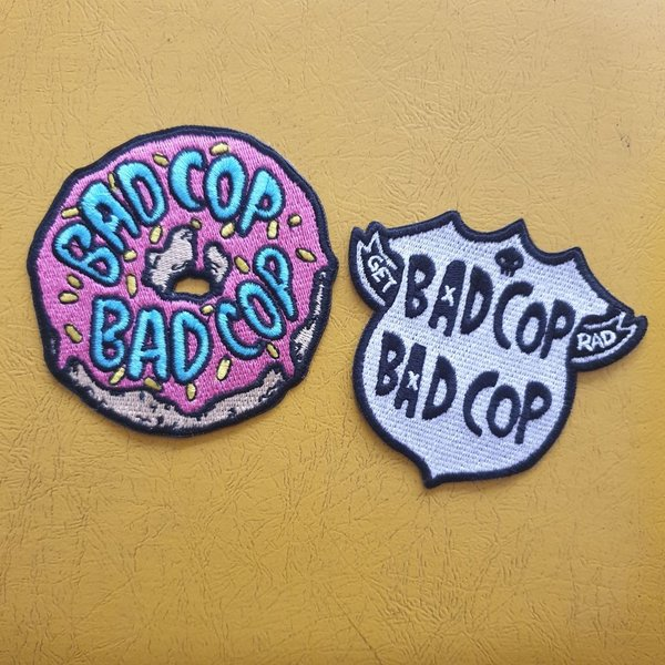 Bad Cop/Bad Cop -  embroidered patch