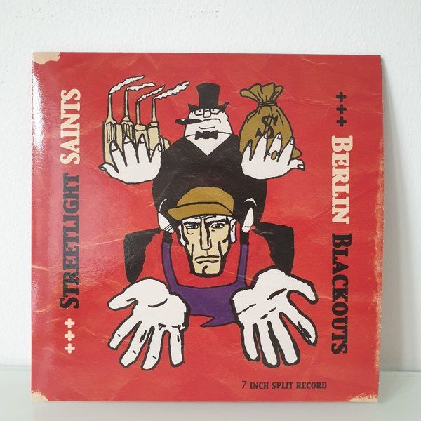 "Berlin Blackout / Streetlight Saints 7"" Split"