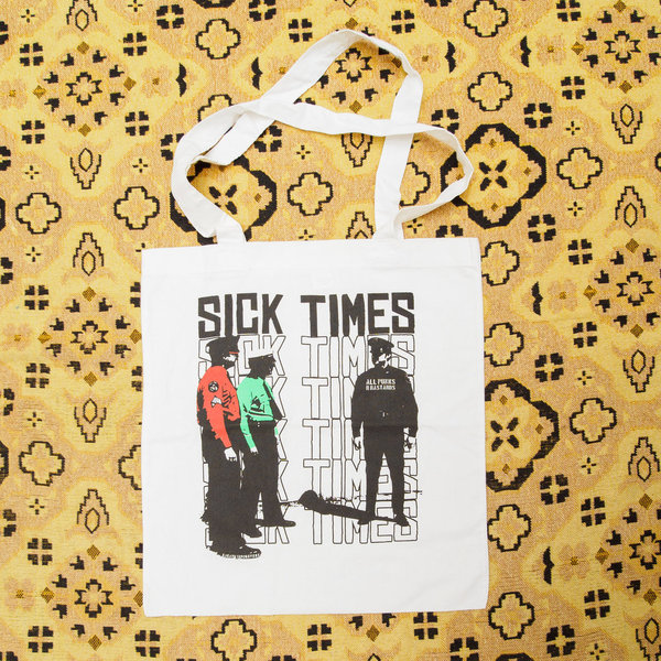 Sick Times - Totebag 'All Punks Are Bastards'
