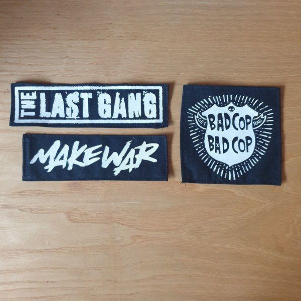 printed patches - Set