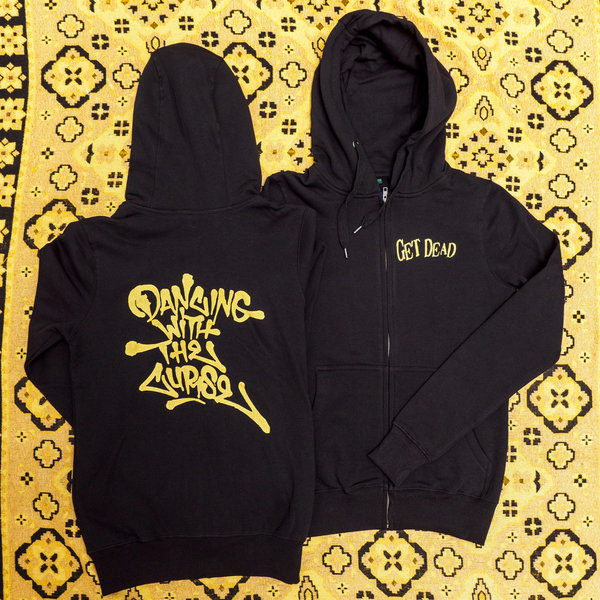 Get Dead – Zip-Hoodie 'Dancing With The Curse'